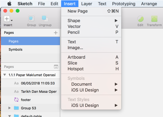 8 critical shortcuts in Sketch