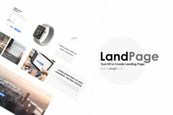 Land Page Kit | Create Landing Page