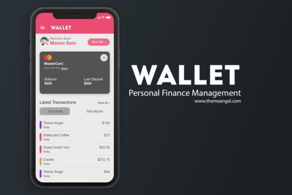 Wallet - Personal Finance Management App